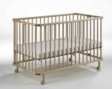 Geuther foldable cot Mayla natur 60 x 120cm