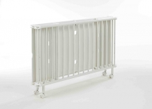 Geuther foldable cot Mayla 1131 white 60 x 120cm