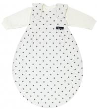 Alvi 423809249 Baby-Mäxchen® 3 tlg. Dots weiß 56/62