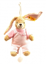 Steiff 237584 little rabbit musical toy 20 rosa