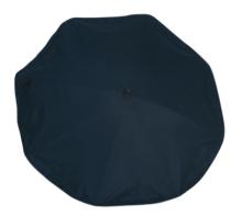 Parasol black Silence Clip UV Schutz 50  72 cm