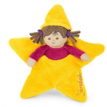 Sterntaler 3001555 stars doll yellow