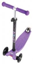 Micro MM 0019 Maxi Kickboard® mit T-handle purple