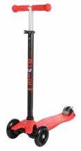 Micro MM 0037 Maxi Kickboard® with T-handle red