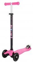 Micro MM 0053 Maxi Kickboard® with T-handle pink