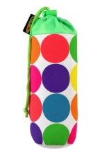 Micro AC 4028 bottle bag neon punkte