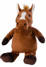 Warmies® 01143 Beddy Bear sitting horse II removeable