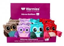 Warmies® Minis Eulen 15015 Eule rot