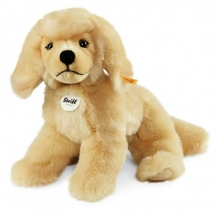 Steiff 076961 Lenni Golden Retriver 28 blond liegend