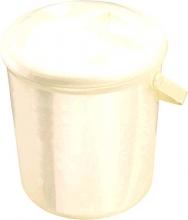 Rotho diaper-bucket Bella Bambina pearlwhite cream