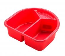 Waschschüssel Rotho Top Sunset Red Perl