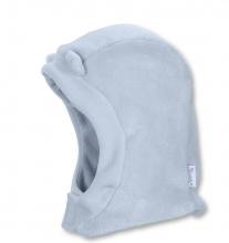 Sterntaler Fleece- Schalmütze 48390 bleu mit Klettverschluss