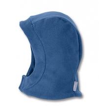 Sterntaler Fleece- Schalmütze 4501420 koboltblau mit Klettverschluss