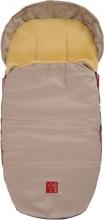 Kaiser 6720562 Lammfellfußsack Lenny medi super light jeans green beige