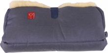 Kaiser Handwärmer Big Double Lammfell Stoff jeans 6573250