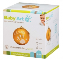 Baby Art My Christmas Fairy Christbaumkugeln matt gold