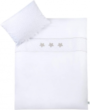 Zöllner bedding w. application hour of stars white 80x80cm