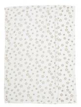 Alvi 931846946 Microfaser Baby Decke Stars beige 75 x 100 cm