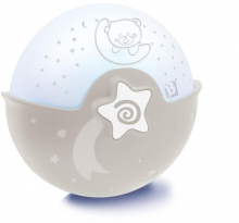 B Kids Schlummerlampe Sternhimmel mit Projektor grau 980-004909-12