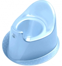 Rotho potty Top baby bleu perl