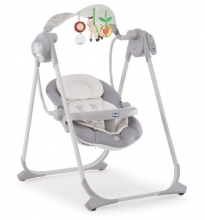 Chicco Babyschaukel Polly Swing Up Silver