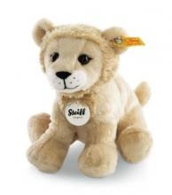Steiff 084058 Aslan young lion 17 blonde sitting