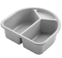 Waschschüssel Rotho Top Silber grau