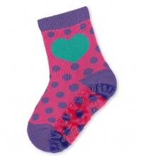 Sterntaler 8031602 size 17/18 686 purple/violet Flying Floor-Whizzers heart