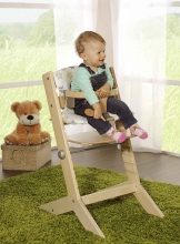 Geuther high chair 2337 SYT fb. colonial