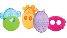 Nüby Polar Pal teether different designs assorted