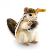 Steiff 070945 Kecki Streifenhörnchen 15 braun/creme aufwartend