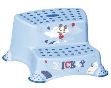 Tritthocker 2-stufig OKT Mickie Mouse hellblau