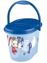 Diaper bucket OKT Mickie Mouse bright blue