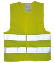 Kaufmann high-visibility vest for children size 116-164