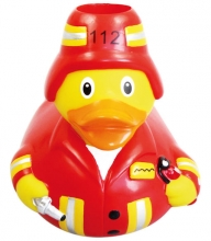 my toothie duck toothbrush holder fire brigade