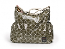 Babymel BM 1401 Big Slouchy Wickeltasche Twisted Khaki