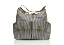 Babymel BM 7355 Frankie diaper bag navy stripe