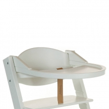 Playtray for Treppy 1014 white highchair