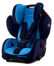 RECARO 6203.21504.66 Young Sport Hero 16/17 Xenon Blue 9-36kg