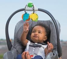 B Kids 005132 Chew & Clutch Teether Activity Toy Beißring/Spielzeug