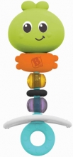 B Kids 005136 Squeeze & Bend Busy Gem Teether Beißring/Spielzeug