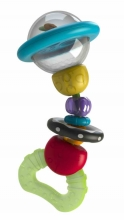 B Kids 005137 Shake & Bend Water Rattle Teether (cooling) colourful