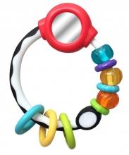 B Kids 005151 Mirror Ring Rattle