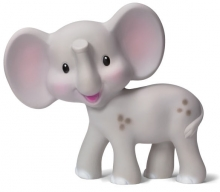 B Kids 005064 Squeeze and Teethe grey Elephant