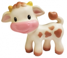 B Kids 005006 Squeeze and Teethe Cow