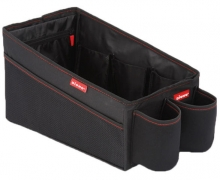 Diono seat bank travel pal organizer with cup holder black