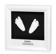 Baby Art My Little Steps 3D-image-frame for hand- and footprints