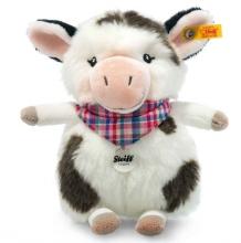 Steiff 103049 cow mini Cowaloo 18 white/black spotted