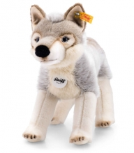 Steiff 069246 Snorry Wolf 32 grau/weiß