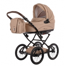 Knorr 36000-5 Classico stroller set creme incl. seat and changing bag